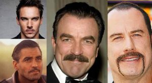 Four Moustache Styles for a Man with Style