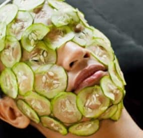 Fruit and Vegetables for a Facial Mask