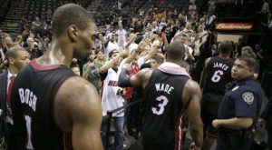 Miami Heat Big Three Shows Up To Knot Series At 2-2
