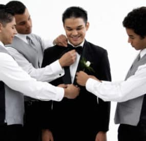 Male Grooming Tips for the Groom