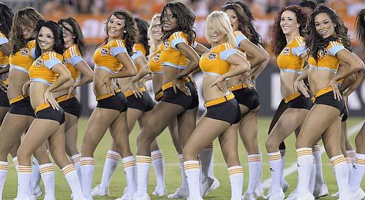 Huston Dynamo Cheerleaders