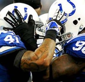 NFL Wild Card Playoff Day 1 Doesn't Disappoint, Colts Comeback, Saints Win On FG