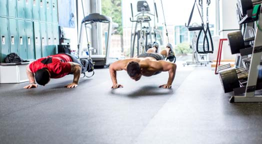 Push Up Progression Training