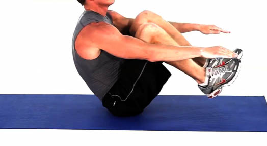 The V Sit-up Workout