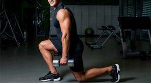 Isodynamic Split Squat Workout