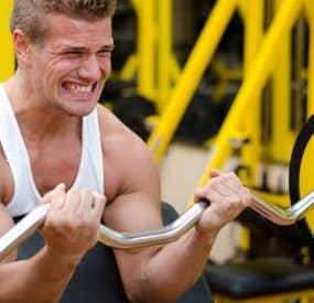 Key to Building Muscle with Intensity