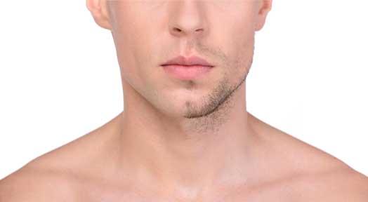 Facial hair shave