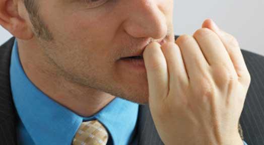 changing behavior nail bitting