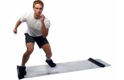 Fat Burning Slide Board Workout