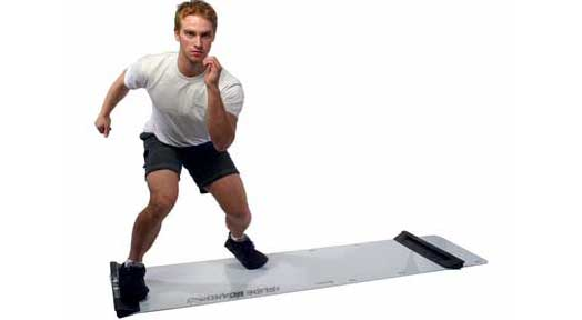Fat Burning Slide Board Workout