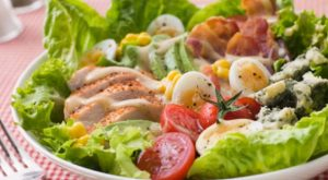 Health Fit Recipes for Men- Grilled Chicken Salad