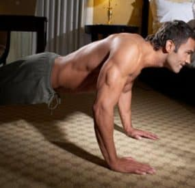 Build Muscle at Home with The Body Weight Workout