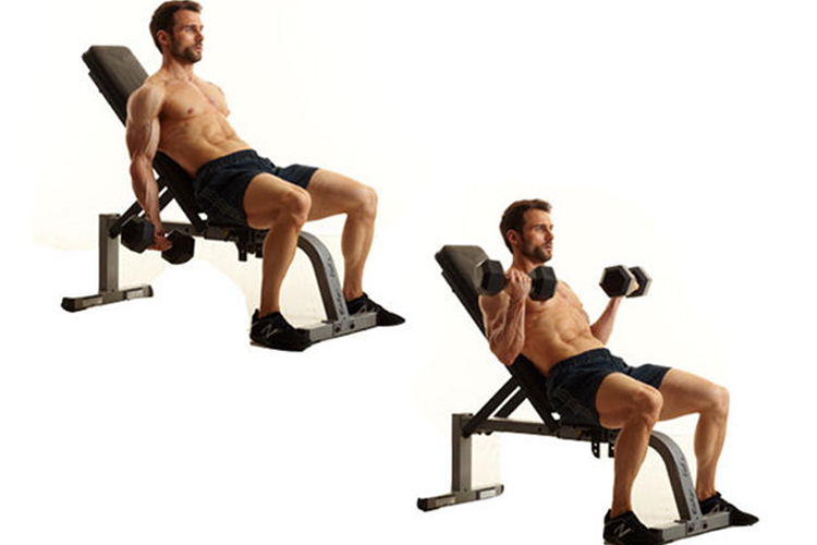 Best Bicep Workouts for Strong and Impressive Arms - incline curls