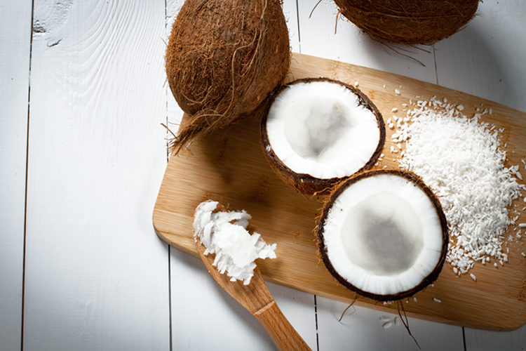 Top 10 Low Carb Fruits and Vegetables to eat on the keto diet - coconut